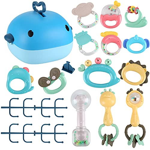 Jtboo Baby Rattle Sets Teether R...