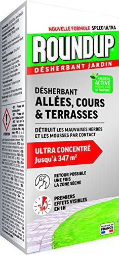 Roundup Liquide Desherbant Allées Cours &...