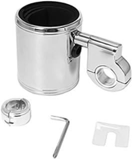 KESOTO Suporte para bebidas ajustável de metal para motocicleta universal, suporte para copos de suporte para guiador, par...