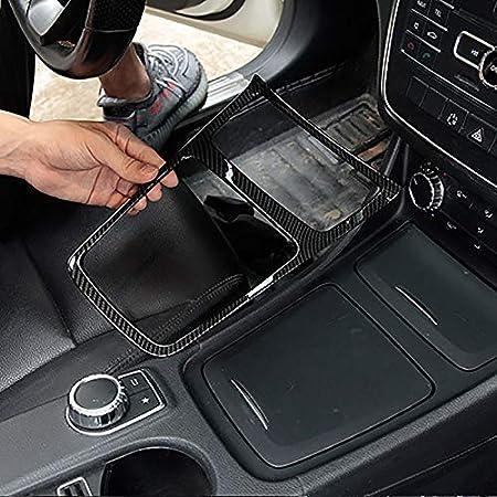 Senmubery Cornice Portacenere nel Acciaio Cromato con Finitura Cromata per Mercedes Cla Gla Classe Un W117 C117 W176 2013-2018