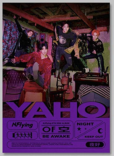 FNC N.Flying - YAHO [BE Awake ver.] (6th Mini Album) CD+80p Booklet+4Film Photo+1Talk Card+1Selfie Photocard