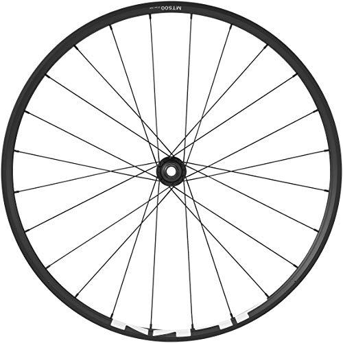 Shimano Wheels Wh-Mt500 Mtb, 27,5 po (650B), 15 x 100 mm, essieu traversant, avant, noir
