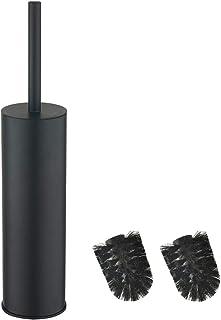 bgl Long seau rond en acier inoxydable 304 pour brosse WC (noir)