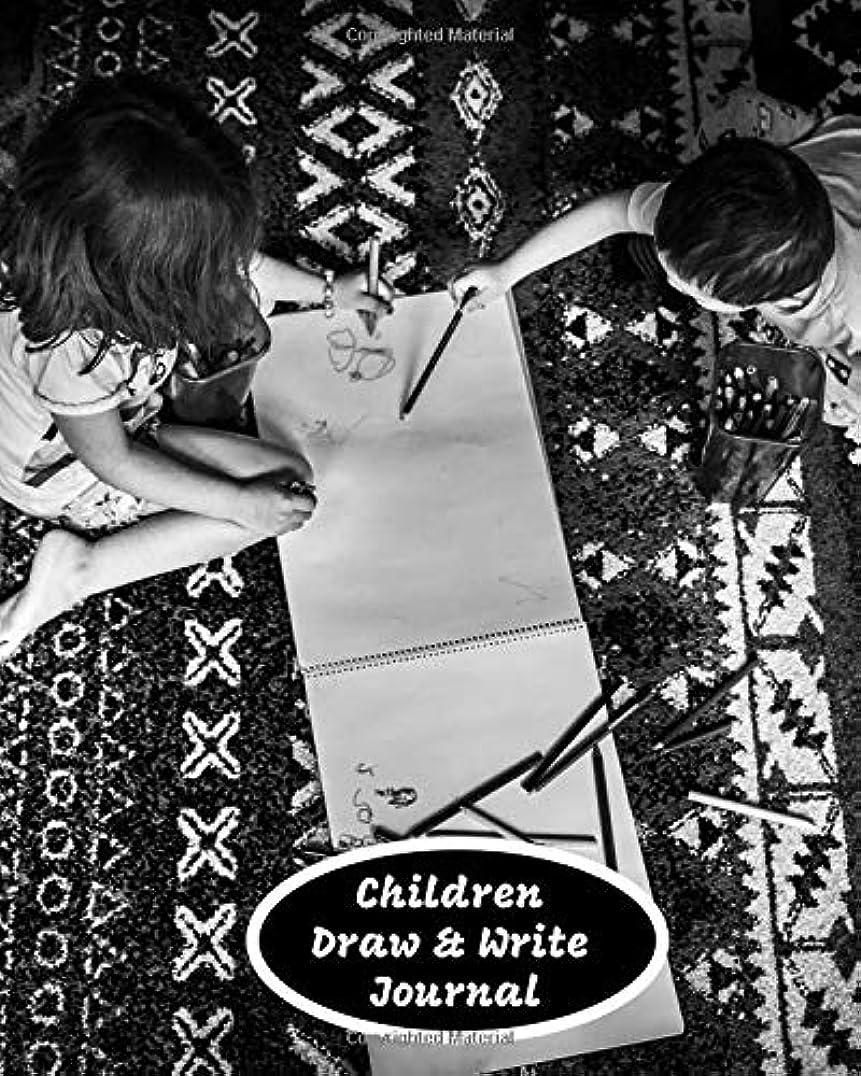 メーカー推定機関車Children Draw & Write Journal: Kids large blank paper notebook for doodling sketching scribbling writing and more (Kids' Books Collection)