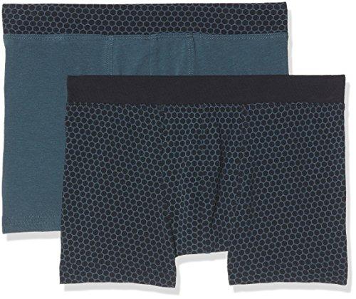 Schiesser Jungen Multipack-2pack Shorts Boxershorts, Mehrfarbig (Sortiert 1901), 176 (Herstellergröße: L) (2er Pack)