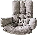 NHY Turn sillón Almohada Almohadillas para Almohadas para sillas de Rattan para Interiores al Aire Libre en el hogar Patio Patio jardín Silla Colgante Almohada,