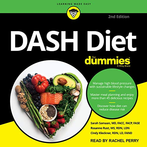 DASH Diet for Dummies (2nd Edition) cover art