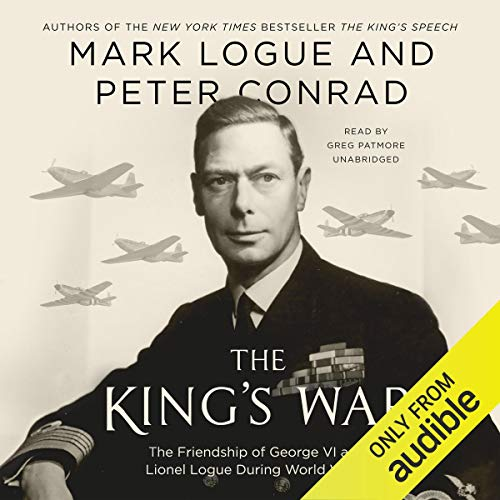 The King's War audiobook cover art