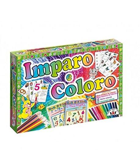Mattel GmbH X3715 Album Imparo e Coloro