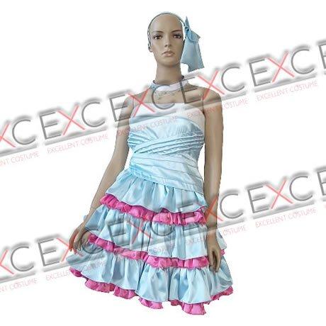 『【コスプレ】きらりんレボリューション風 月島きらり 青色 タイプ 衣装 女性用L』の1枚目の画像
