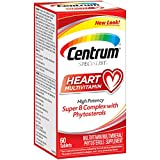 Centrum Specialist Heart Multivitamin/Multimineral Supplement with Super B Complex Vitamins, Antioxidants and Phytosterols - 60 Count
