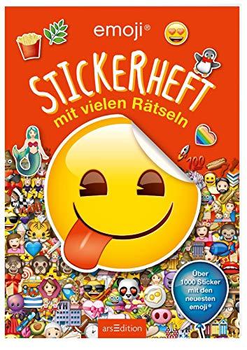 emoji - Stickerheft mit vielen Rätseln