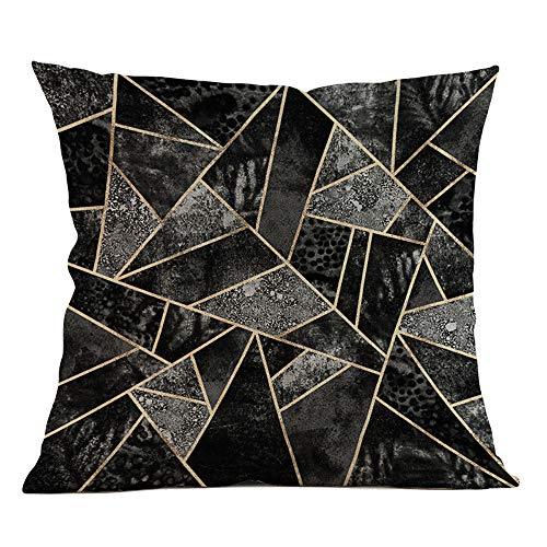 Janly Clearance Sale Pillowcase , Geometric Pillow Case Waist Cushion Cover Sofa Home Decor , Home & Garden (F)