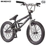 KHE BMX Fahrrad Arsenic CS 18 Zoll schwarz Affix 360° Rotor nur 10