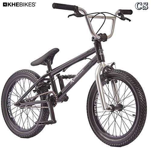 KHE BMX Fahrrad Arsenic CS 18 Zoll schwarz Affix 360° Rotor nur 10,1kg
