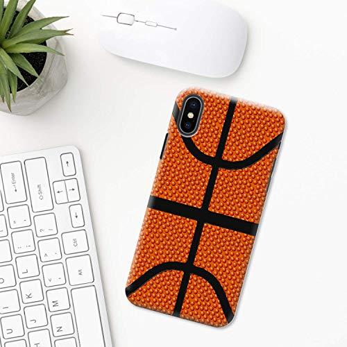 Baloncesto iPhone Funda XR 11 X XS MAX Pro 8 7 Plus 6 6s 5 5s SE 2020 10 Plastico Silicona Apple iPhone Cubierta del Teléfono Regalo Arte deporte equipo remojar liga juego amor