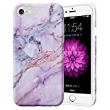 Caka Marble Case for iPhone SE 2020, iPhone 6 6S 7 8 Marble Case Slim Soft Flexible Protective Shockproof Luxury for Women Girls Case for iPhone 6 6S 7 8 SE 2020 (Pink)