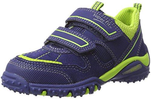 Superfit Jungen SPORT4 Sneaker, Blau (Nautic Kombi), 28 EU
