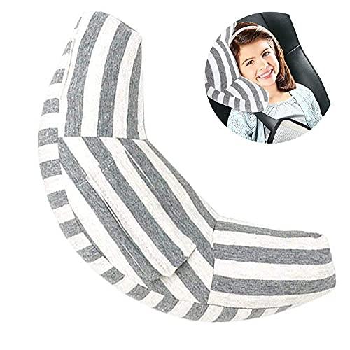 Protezione per Cintura di Sicurezza, Imbottitura per Cintura di Sicurezza per Cinture di Sicurezza Auto Poggiatesta Auto per Bambini, Lavabile in Lavatrice Morbido Cuscino di Alta Qualità
