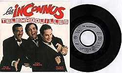 Les Inconnus - Télémagouilles - Les Feujs (Vinyle, 45 tours 7