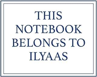 This Notebook Belongs to Ilyaas