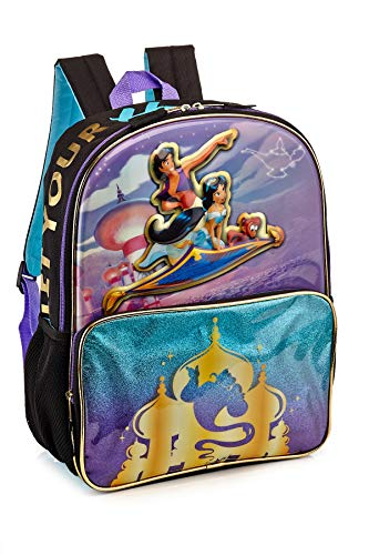 Disney Aladdin Princess Jasmine 3D Popup 16 Inch Movie Backpack