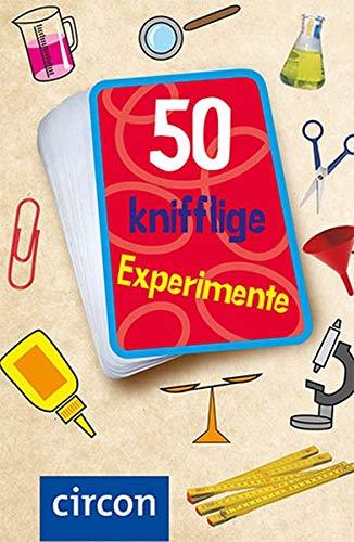 50 knifflige Experimente (Karten für Kinder)