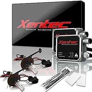 XENTEC 55W Standard Size Ballasts x 2 bundle with 2 x Xenon Bulb H13/9008 Hi/Lo 6000K w/Hi-beam Halogen (Ultra White) offroad