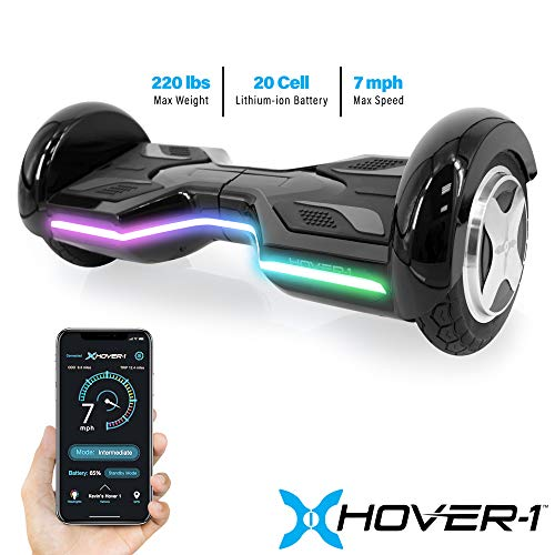 Hover-1 Horizon Hoverboard Electric Scooter, Black