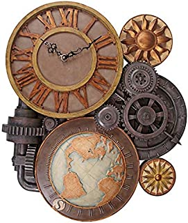 Best design toscano gears of time sculptural wall clock Reviews