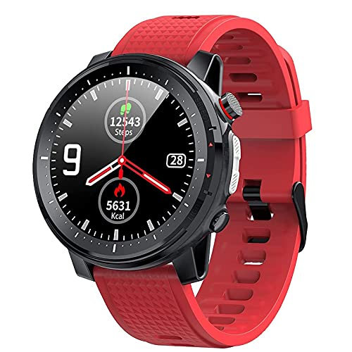 KJWXSGMM Smart Watch Phones Fitness Tracker with Heart Rate Monitor Blood Pressure Blood Oxygen Tracking 1.3 Inch Touch Screen Smartwatch Fitness Watch