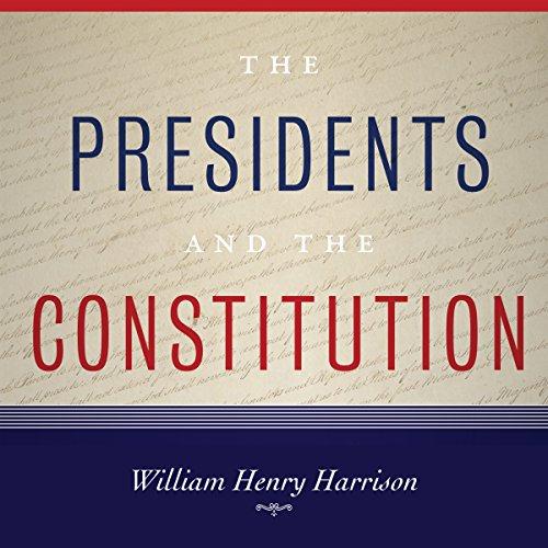 William Henry Harrison audiobook cover art