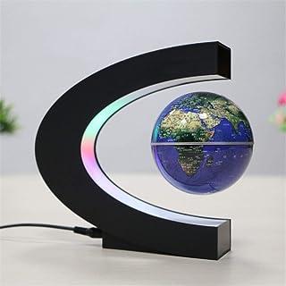 LQQFF Útiles Escolares Levitación magnética Globo en Forma de C Regalo de Estudiante de decoración de Oficina (Color : Azul)