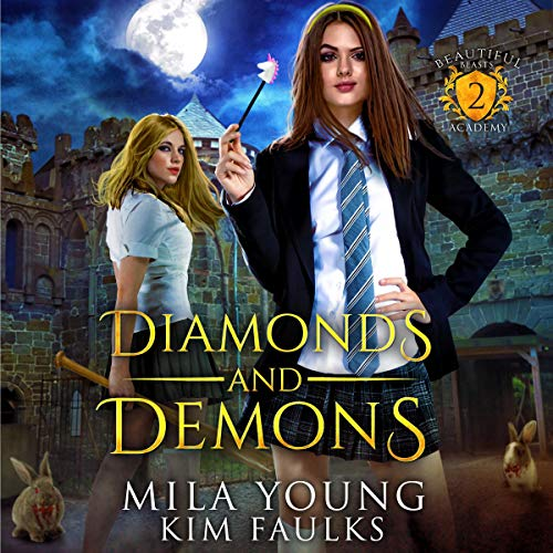 Diamonds and Demons (Supernatural Academy Reverse Harem) cover art