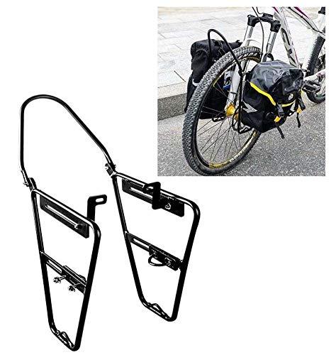 JXS-outdoor Rack-Front Pannier für Mountainbikes - Alle Aluminium-Legierung - Federgabel Fit Träger - für Fahrräder