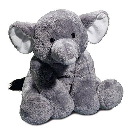 Stofftier Plüschtier Kuscheltier Elefant 30 cm sitzend groß