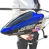 70cm hélicoptère avec contrôle Infrarouge intégré Gyroscope 3.5 canaux avec Gyroscope et lumières LED for l'intérieur Décoration prêt à Voler surdimensionné en Alliage Résistance à Charge de contrôle