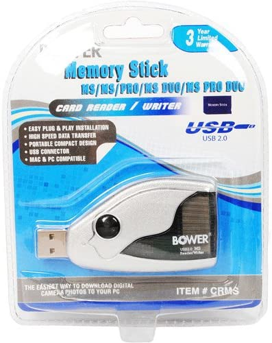 Bower Memory Limited time trial price Stick Card Reader Writer 636980403205 - Ranking TOP10