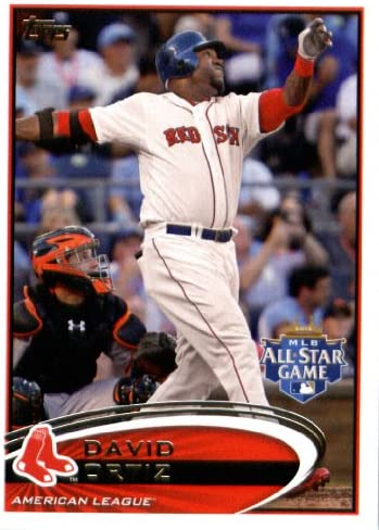 2012 Topps Update Series Baseball Card US292 David Ortiz All Star Boston Red Sox product image