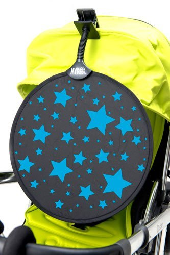 My Buggy Buddy MBBSHADEBLSTAR zonnescherm, blauwe sterren