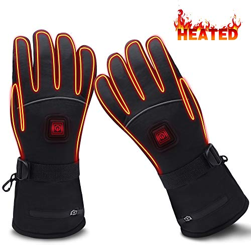 GLOBAL VASION Battery Heated Gloves,Heated...