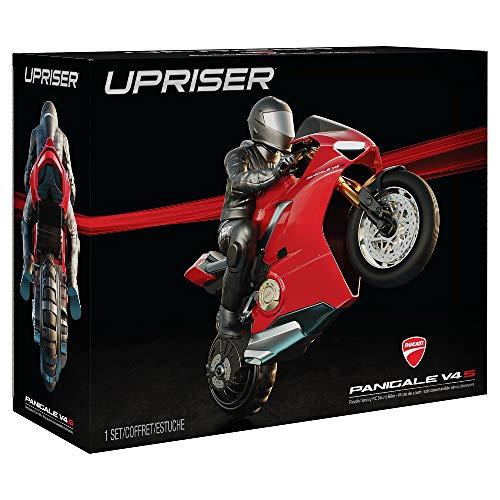 Ducati Panigale V4 S Upriser, Moto Radiocomandata in Scala 1:6, Raggiunge 20 Km/H