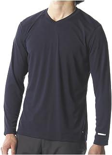 [ミズノ]アウトドアウェア ハイドロ銀チタン 長袖Vネックシャツ A2MA8055 メンズ