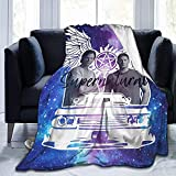 Manta supernatural suave y ligera, adecuada para sofá, cama, oficina, transpirable y cálida para aire acondicionado (S6, 135 x 150 cm)