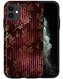 CASFY - Funda para iPhone 11, Lavish Flowers KU020_7, diseño de moda estético, accesorios para teléfono