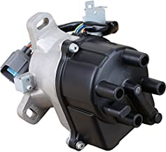 AIP Electronics Heavy Duty Stock Series Complete Electronic Ignition Distributor Compatible Replacement For 1996-1998 Honda Acura 1.6L VTEC With Tec Distributor TD80-U OBD2A/B Oem Fit DTD80-SS