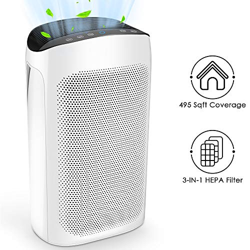 Air Choice Air Purifiers for Large Room - True HEPA Filter Air Purifier for Home, Air Cleaner for...