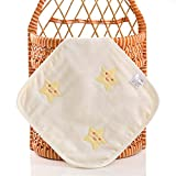Baby Waschlappen Musselin Baby-Handtücher Weiche Neugeborene Mehrzweck Gesichtstücher Tolles...