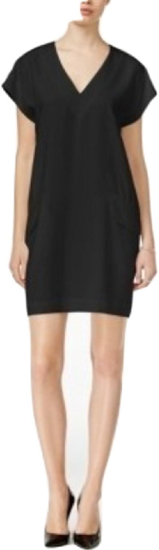 Bar III Womens KneeLength Cap Sleeve Wear to Work Dress