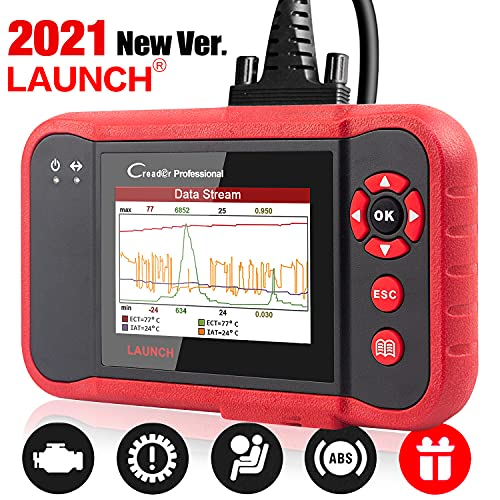 LAUNCH OBD2 Scanner CRP123 Check Engine ABS SRS Transmission Code Reader Diagnostic Scan Tool for Car,Support Full OBD2 Modes,Print Graph Data &Free Update Lifetime